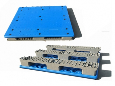 Blowing Mould Plastic Pallet with 3 Runners
